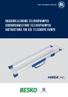 Brugervejledning teleskop ramper